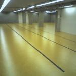 Marmoleum magazijn vloerbedekking